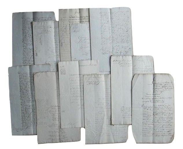 Manuscript; Notarial and official deed from the Mellink family - 1778/1817