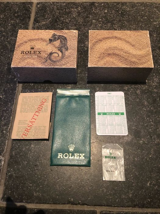 Rolex - seahorse set  - Outer box and very cool items  - Unisex - 1970-1979