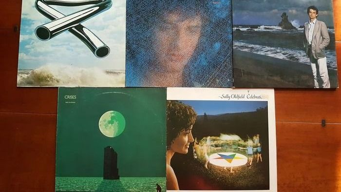 Mike and Sally Oldfield - 4 x Lp and 1 x double LP - Diverse Titel - 2x LP Album (Doppelalbum), LP's - 1973/1984