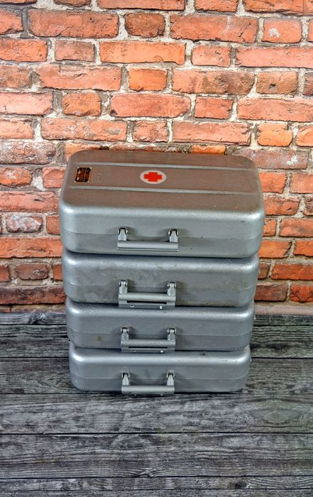 Steel Industrial Chests Box (4x)