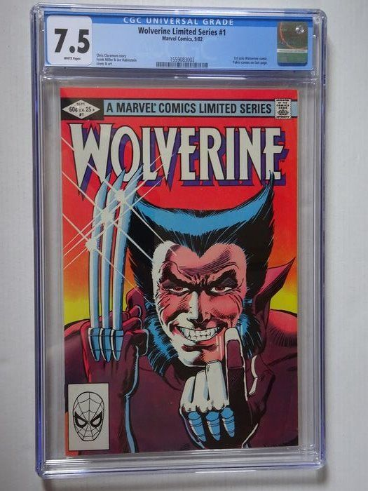 "Wolverine Limited Series #1 - ""I'm Wolverine!"" Lovely high grade limited series 1st solo Wolverine comic. - Softcover - First edition - (‎1982)"