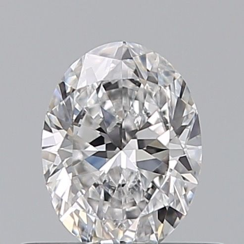 1 pcs Diamond - 0.41 ct - Oval - D (colourless) - IF (flawless)
