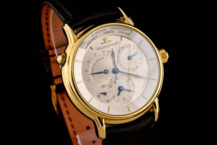 Jaeger-LeCoultre - Master Geographique 18K Gold Power Reserve Automatic - 169.1.92 - Men - 2000-2010