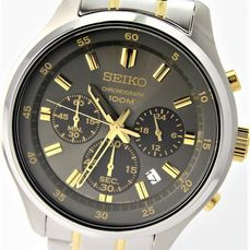 """Seiko - Chronograph """"NO RESERVE PRICE""""  - New & Boxed - Heren - 2011-heden"""