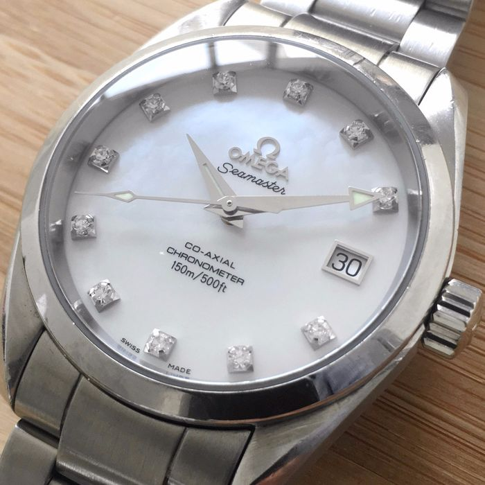 Omega - Aqua Terra Co-axial Diamonds    - 25047500 - Men - 2011-present