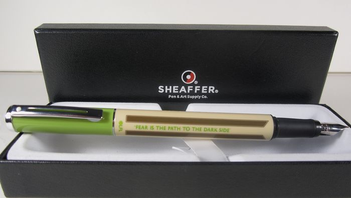 "Sheaffer - Sheaffer ""Star Wars"" collection fountain pen original box"
