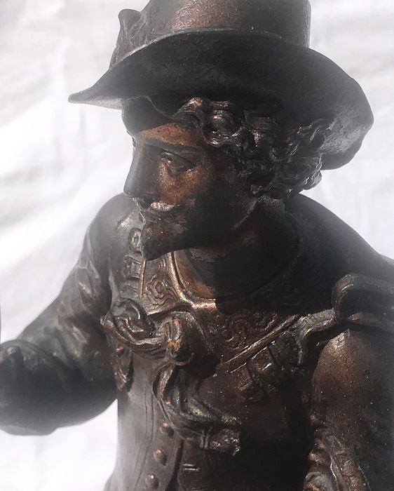 Sculpture - Spelter with Bronze Patination - Late 19th century