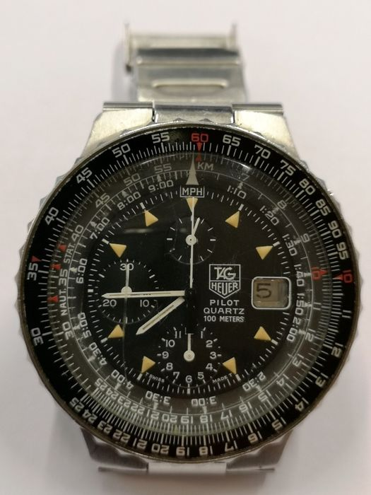 TAG Heuer - Pilot Chronograph  - Ref. 230.206 - Men - 1987