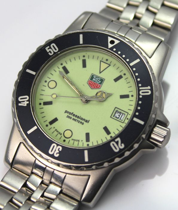 TAG Heuer - 'NO RESERVE PRICE'  - Professional 200 m Swiss WD1210 - G - 20 - Homme - 2011-aujourd'hui