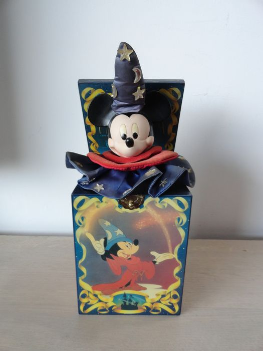 Disney - Mickey Mouse Fantasia  - music box  - limited edition - first edition