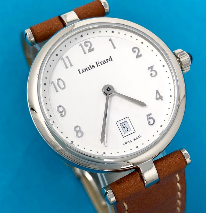 "Louis Erard - Romance Collection White Dial Swiss Made ""NO RESERVE PRICE"" - 10800AA30.BDCA10  - Women - Brand New"