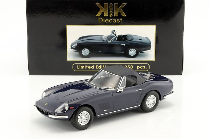 KK Scale - 1:18 - Ferrari 275 GTB/4 NART Spyder 1967 - Limited Edition or 250 pcs.