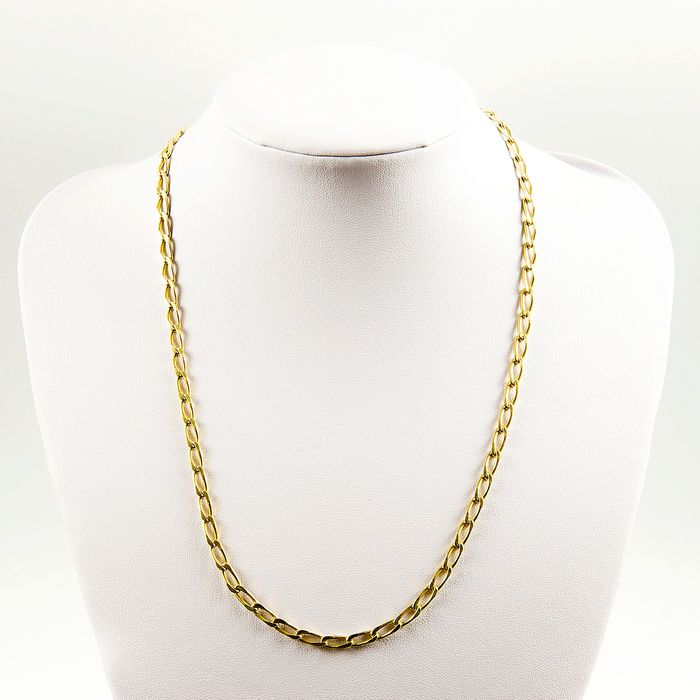 18 kt. Gold - 24 gr. 18k Link necklace