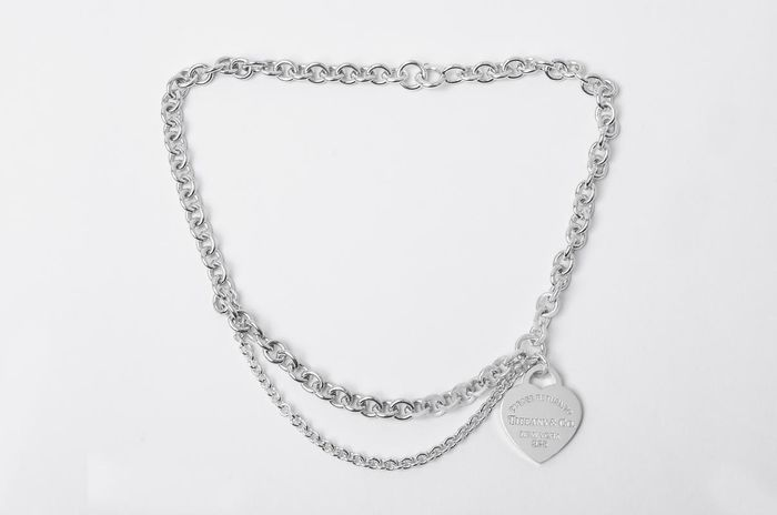 Return to Tiffany Necklace Argento - Collana
