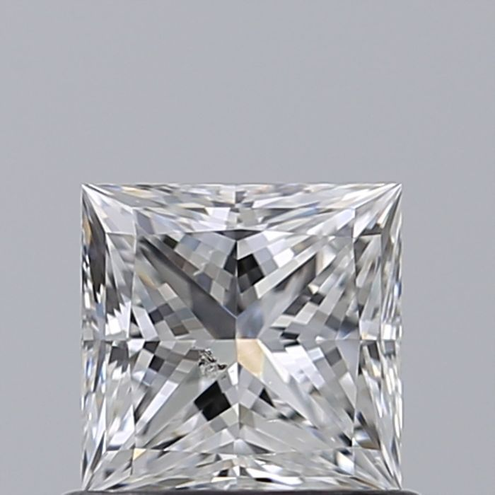 1 pcs Diamant - 0.50 ct - Princesse - D (incolore) - SI2