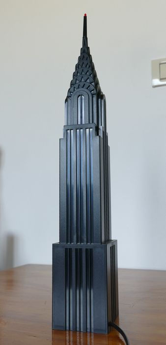 Kodak - Mod. Dep INTERCOMEX - Lamp, Model of the Chrysler skyscraper
