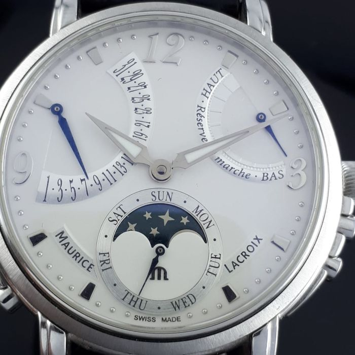 Maurice Lacroix - Masterpiece Lune Retrograde - MP7078 - Herren - 2015