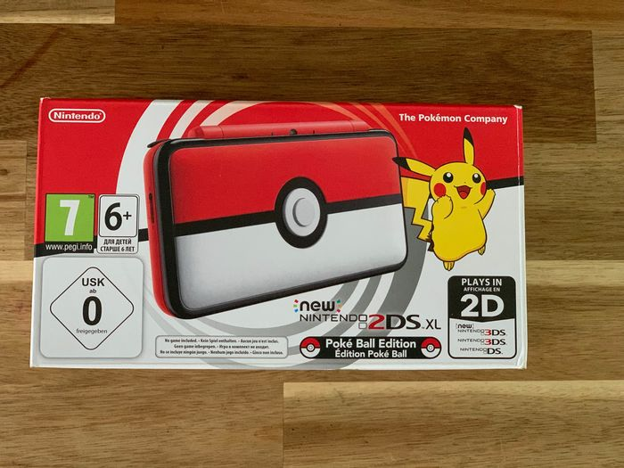 Nintendo - NEW Nintendo 2DS Pokemon Edition - Nella scatola originale