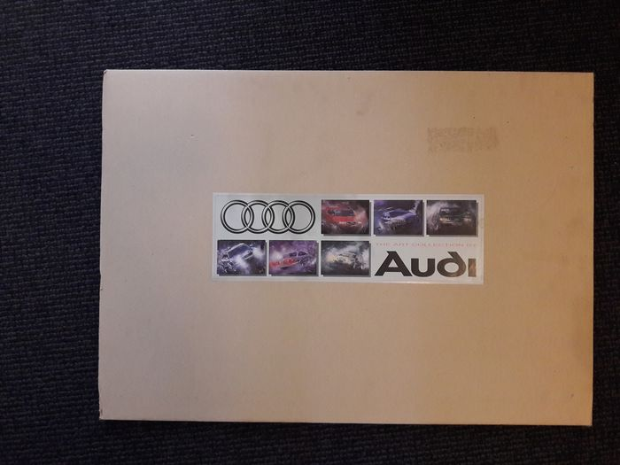 Poster - Audi - 6 Audi posters The Art Collection By Audi - 1990-1990