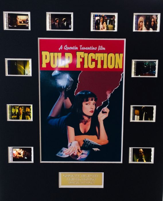 Pulp Fiction - Limited Edition Film Used Cell Display - with Certificate Of Authenticity