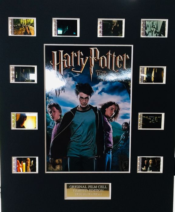 Harry Potter - Prisoner of Azkaban - Limited Edition Film Used Cell Display - with Certificate Of Authenticity