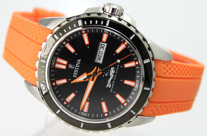 Festina - Divers 200 m - Unworn - Excellent Condition - Men - 2011-present
