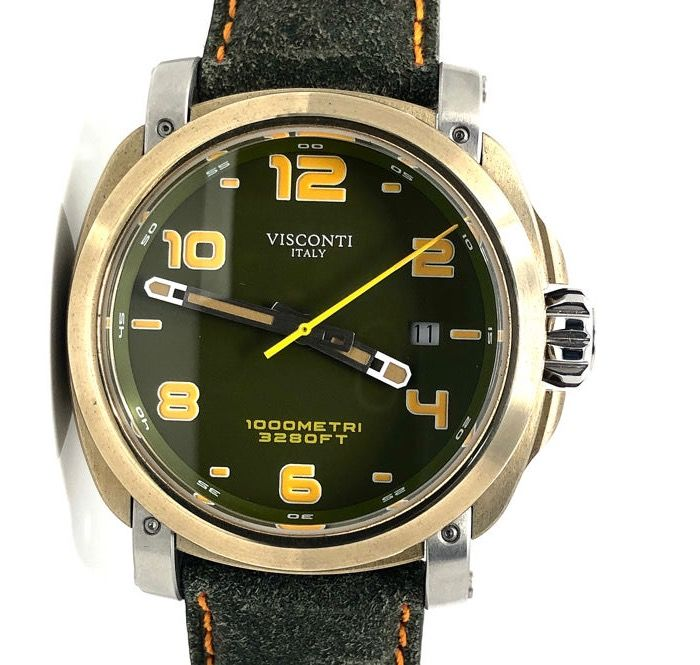 "Visconti - Automatic Watch Majorca Bronze ""NO RESERVE PRICE"" - KW30-11 - Hombre - BRAND NEW"