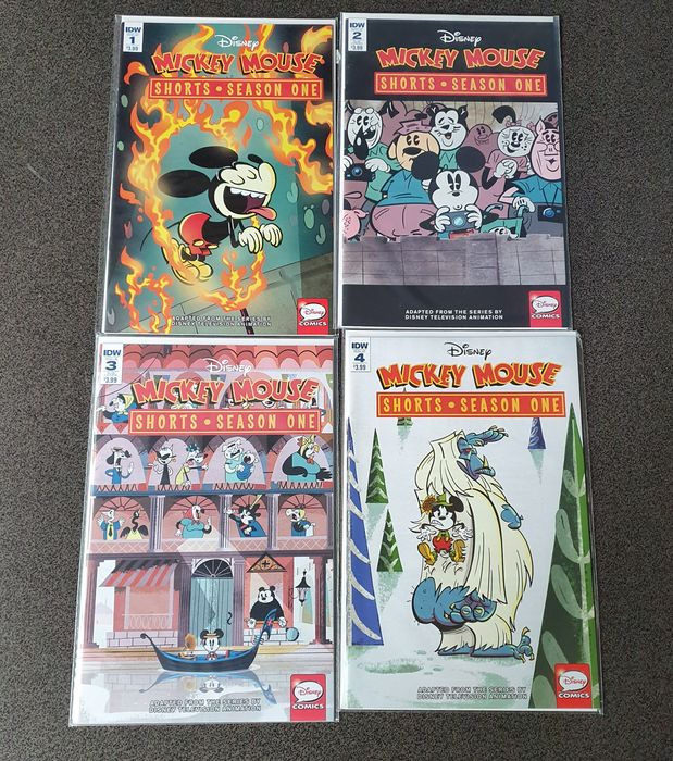 American Disney Comics - 31 comics - Mickey Mouse Shorts + Uncle Scrooge + Donald Duck + Magic Kingdom - First edition (2016)