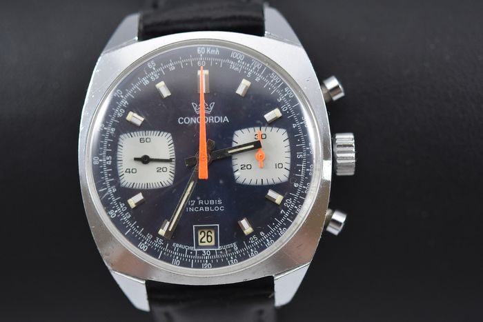 "Concordia - Chronographe - ""NO RESERVE PRICE"" - Men - 1970-1979"