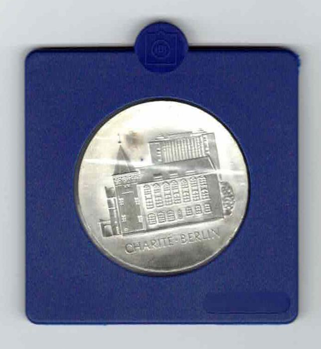 GDR - 10 Mark  1986 Charite in Berlin - Silver, 800