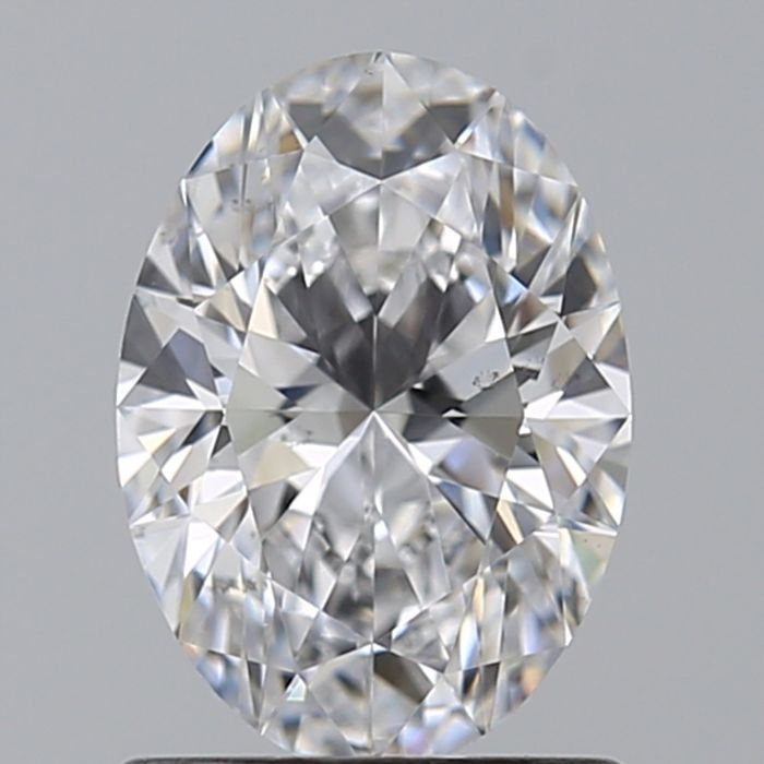 1 pcs Diamond - 0.30 ct - Oval - D (colourless) - VS2