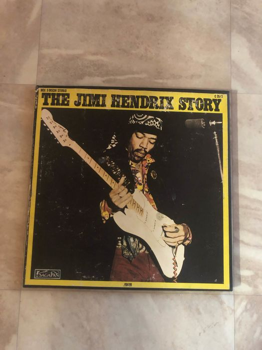 Jimi Hendrix & Related - The Jimi Hendrix Story - 3xLP Album (Triple album), Coffret - 1973/1972