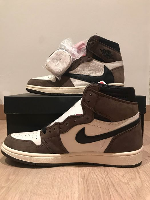 Nike (Limited Edition) - AIR JORDAN TRAVIS SCOTT Sneakers - Size: US 8.5