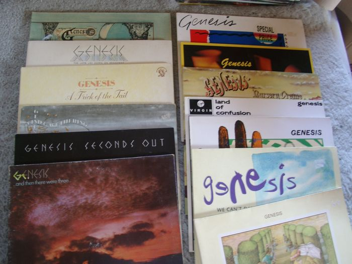Genesis - Multiple titles - 2xLP Album (double album), LP's - 1970/1991