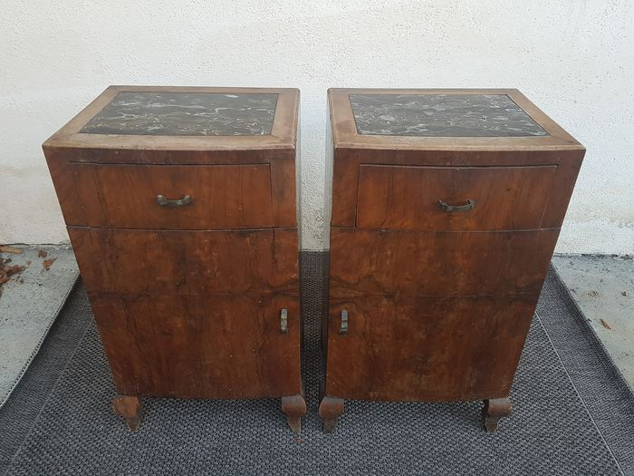 Pair of Liberty bedside tables (2)