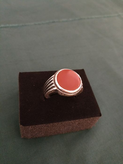 925 Silver - Ring Agate