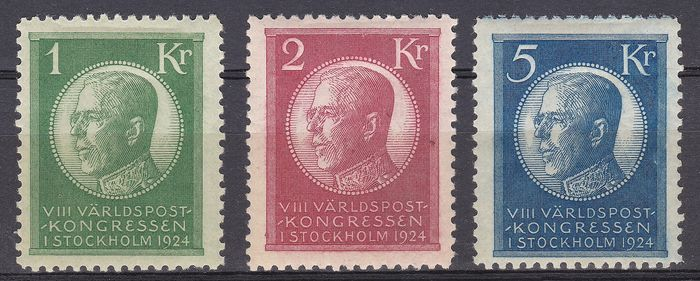 Sweden 1924 - Universal Postal Union Congress - Michel