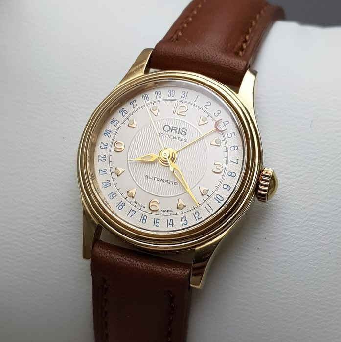Oris - 'NO RESERVE PRICE' Pointer Date Automatic 18K Luxury Lady - 7405 - 女士 - 2011至现在