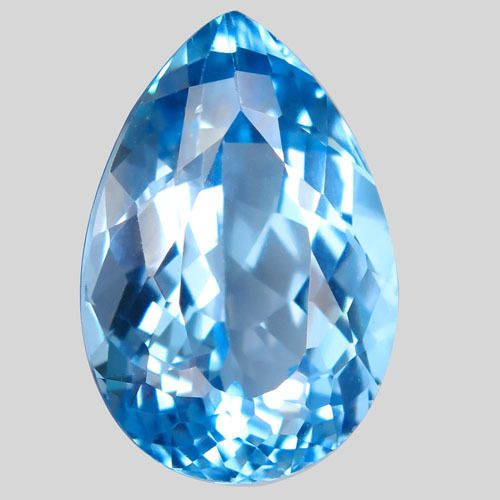 No Reserve Price - Blue Topaz - 17.23 ct