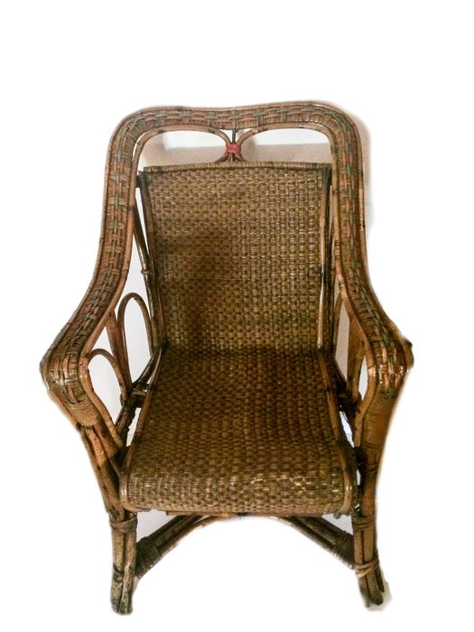 Child's armchair - Rattan, bamboo, wicker