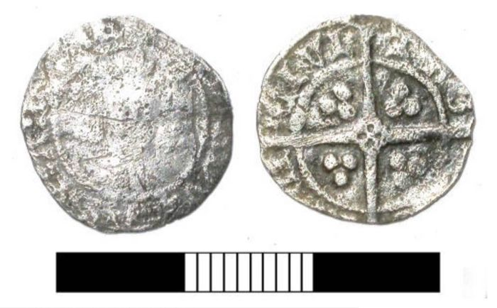 United Kingdom - Penny Henry IV 1399-1413 York mint - Silver