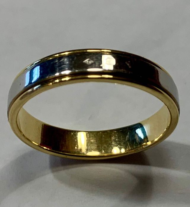 PT900 and 14k Gold Platin - Ring