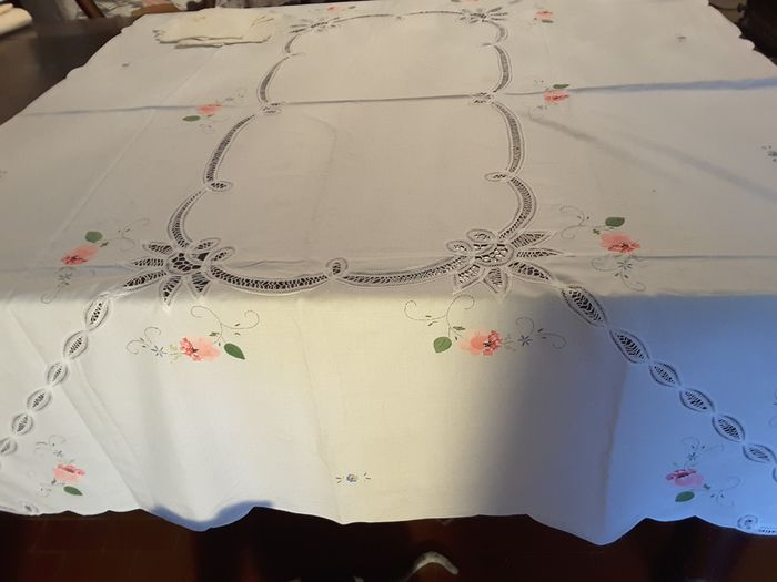 Tablecloth and napkins (7) - Cotton