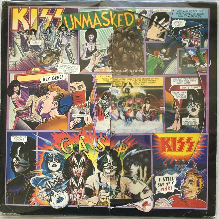 KISS - Limited Edition Picture Disc By Kiss - Unmasked - Picture disk limited edition - 1986/1986