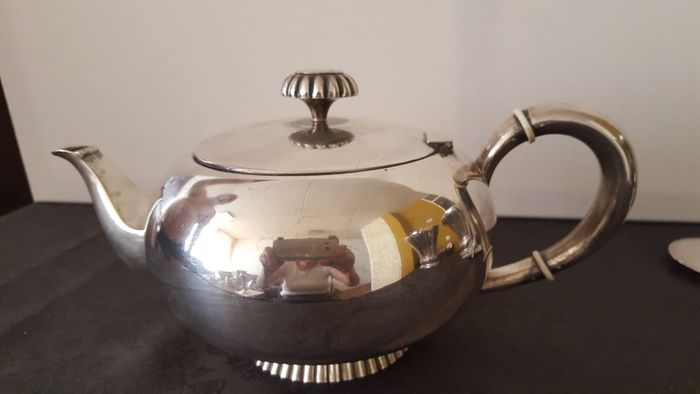Teapot - .925 silver - Wilkens&Sohne sinds 1810 - Germany - mid 20th century