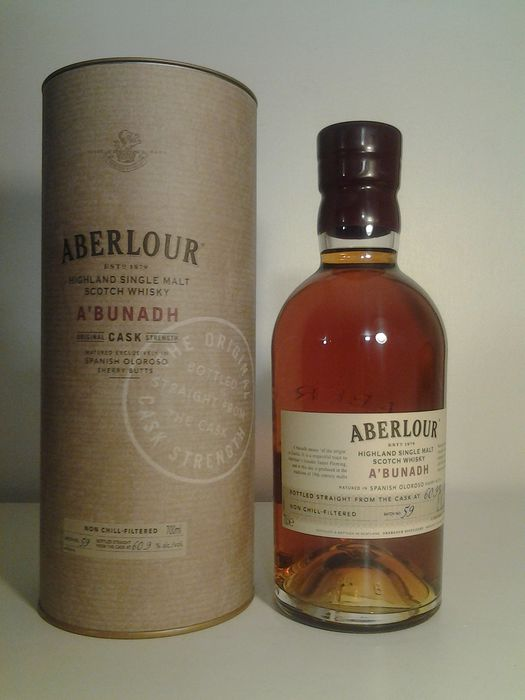 Aberlour A'bunadh batch 59 - Official bottling - 0.7 Litres