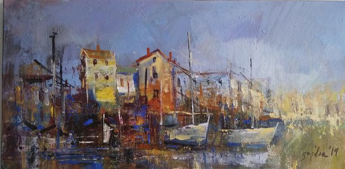 Piotr Sujka  - In the port