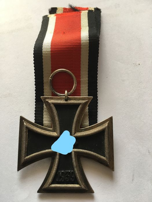 Germany - 3rd Reich Iron Cross 2nd class with ribbon - Award - 1939