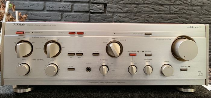Luxman - Ultimate Fidelity L-510 - Duo Beta circuit - Stereo amplifier