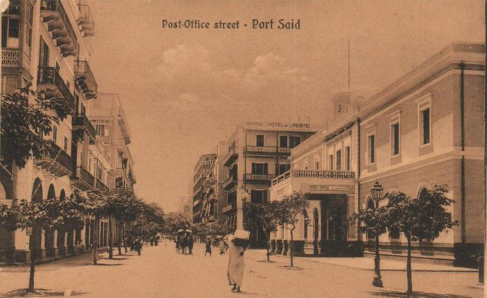 Egypt - Various places and points of interest - including:  Port Said, Cairo and Suez - 109x postcards - period: 1900-1940